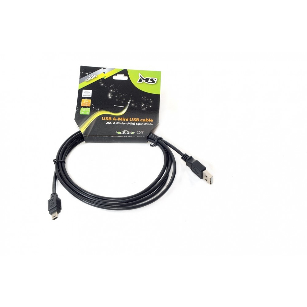 MS kabl USB A-BM AM-MINIB 2m PIN B RETAIL