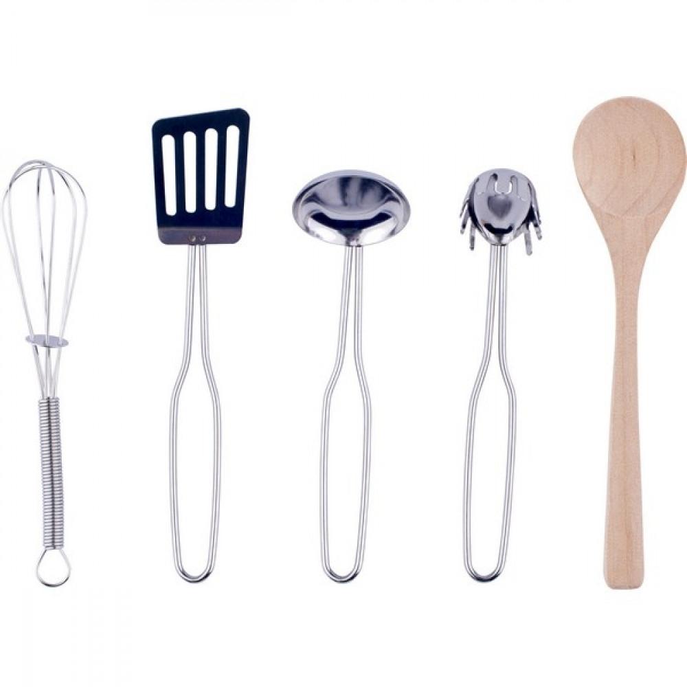 WOODY Posuđe za kuhinju - 10 artikala 91879