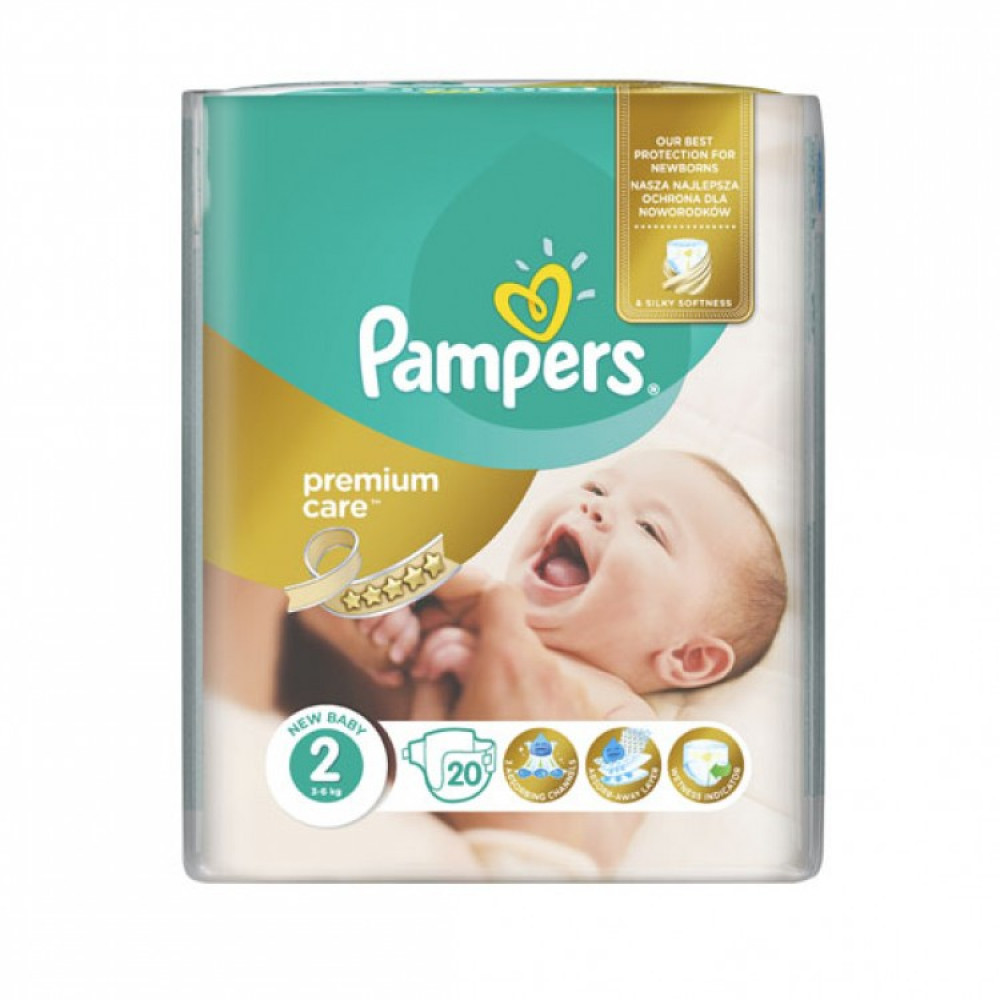 Pampers Premium SMP 2 Mini (20)