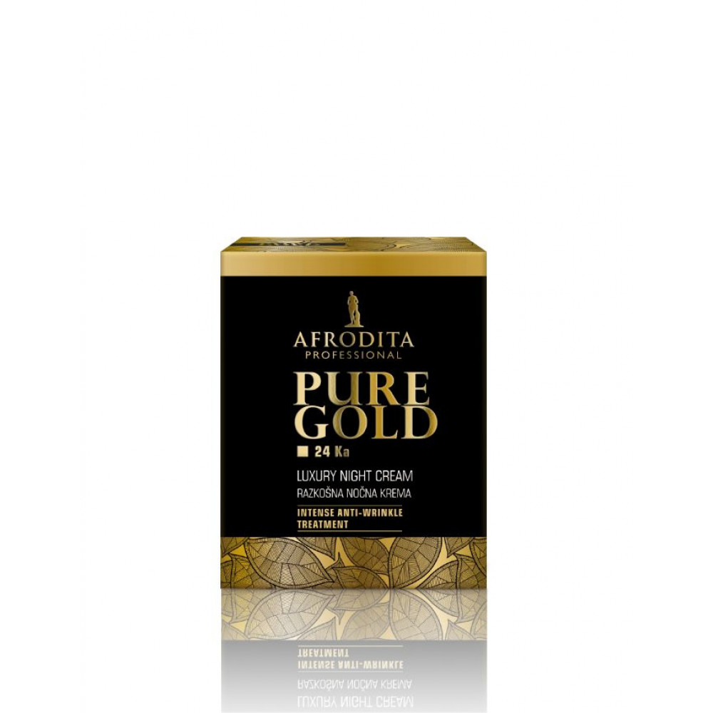 AFRODITA GOLD 24 Ka Luxury noćna krema 50 ml