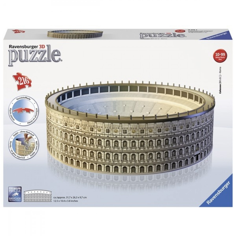 RAVENSBURGER 3D puzzle (slagalice) - Koloseum RA12578