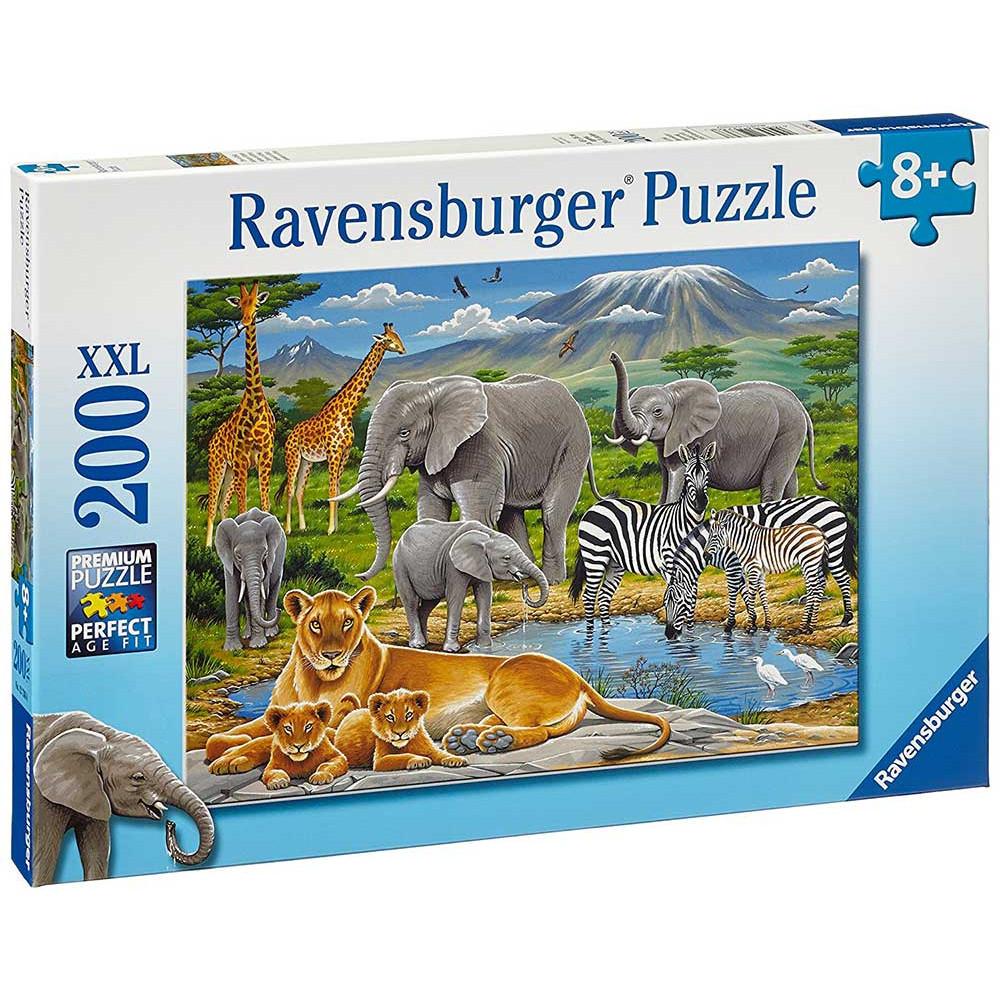 RAVENSBURGER puzzle (slagalice) - Životinje u Africi RA12736