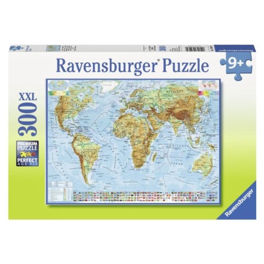 RAVENSBURGER puzzle (slagalice) - Mapa sveta RA13097