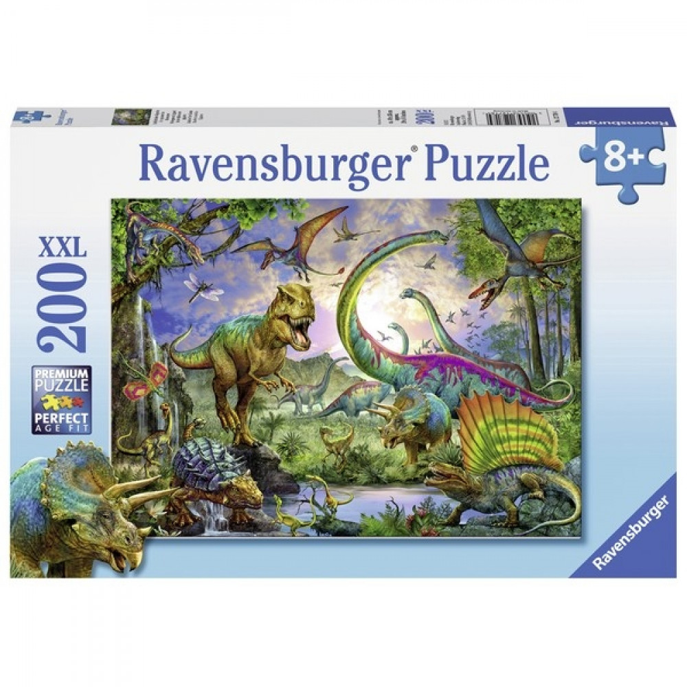 RAVENSBURGER puzzle (slagalice) - Zemlja reptila RA12718