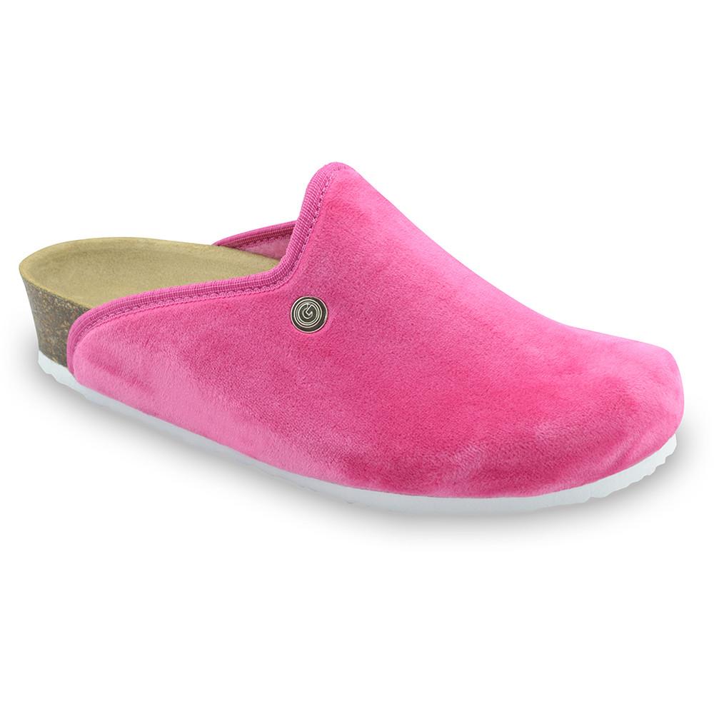 GRUBIN ženske papuče tople 157366 CAKI