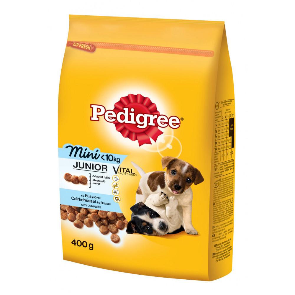 PEDIGREE hrana za pse, Junior piletina 400g 520228