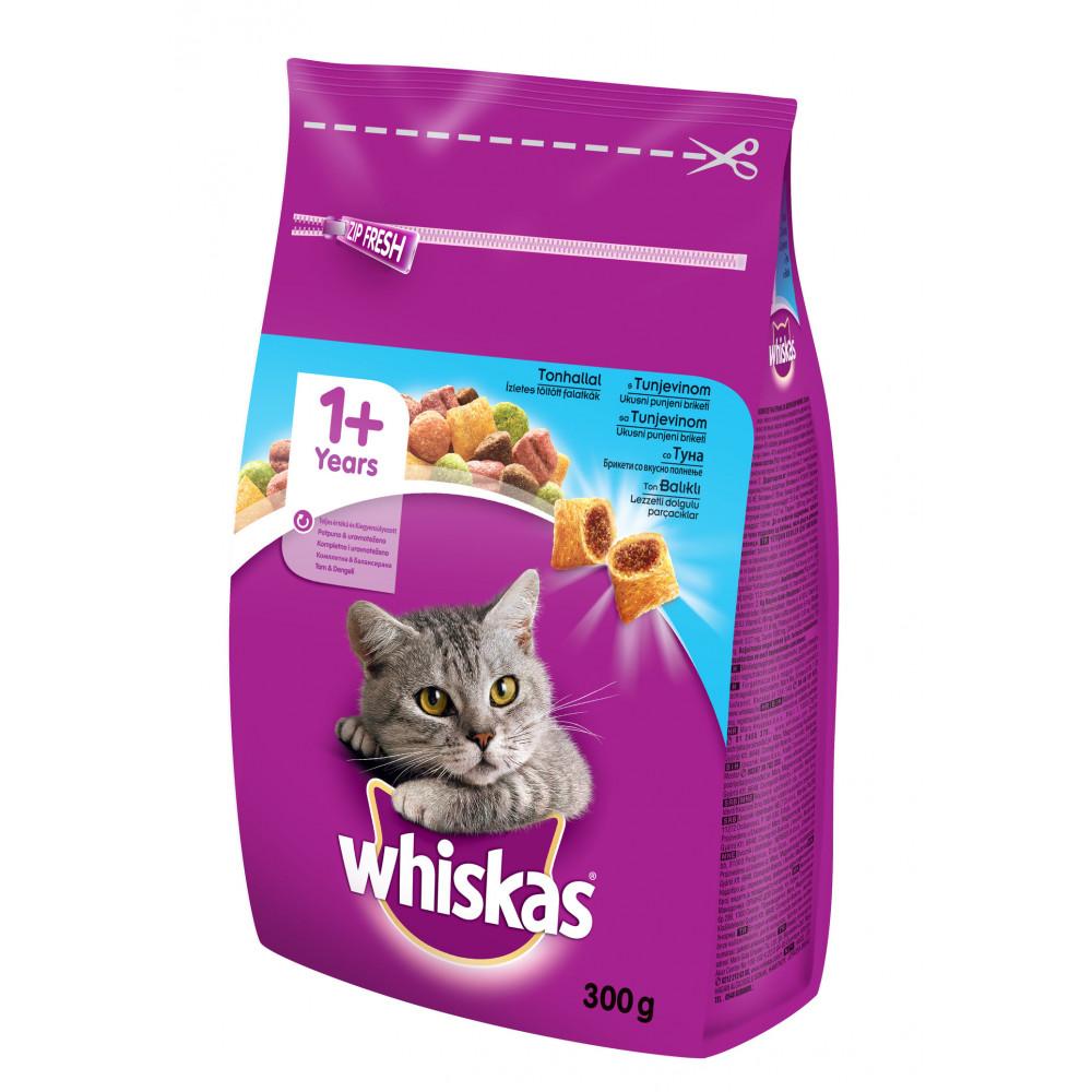 Whiskas hrana za mačku, briketi, tunjevina 300g 520207
