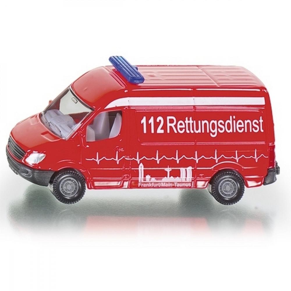 SIKU igračka Ambulantna kola 0805