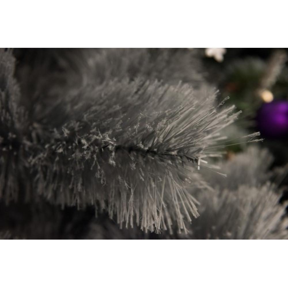 Srebrna novogodišnja jelka 120 cm 21025