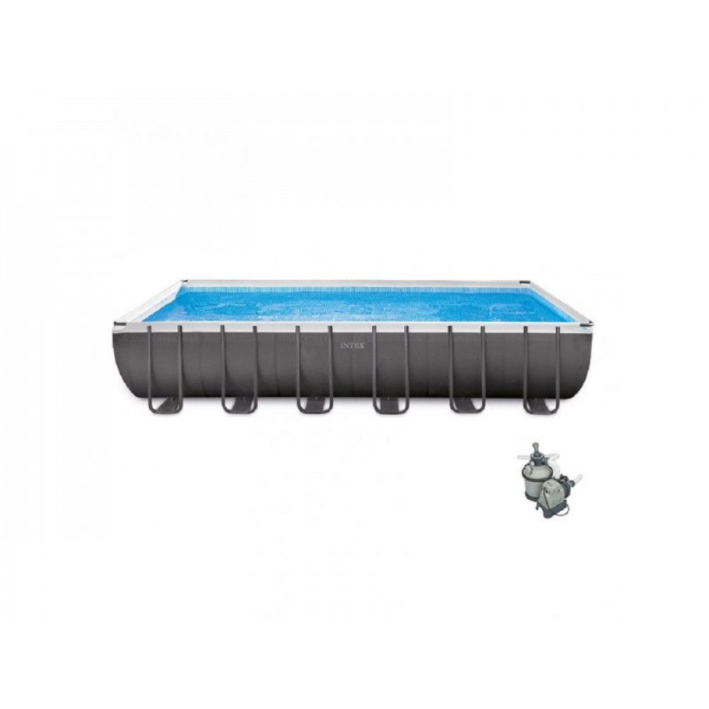 INTEX bazen sa peščanom pumpom 7.32 x 3.66 x 1.32 Ultra Frame 26364