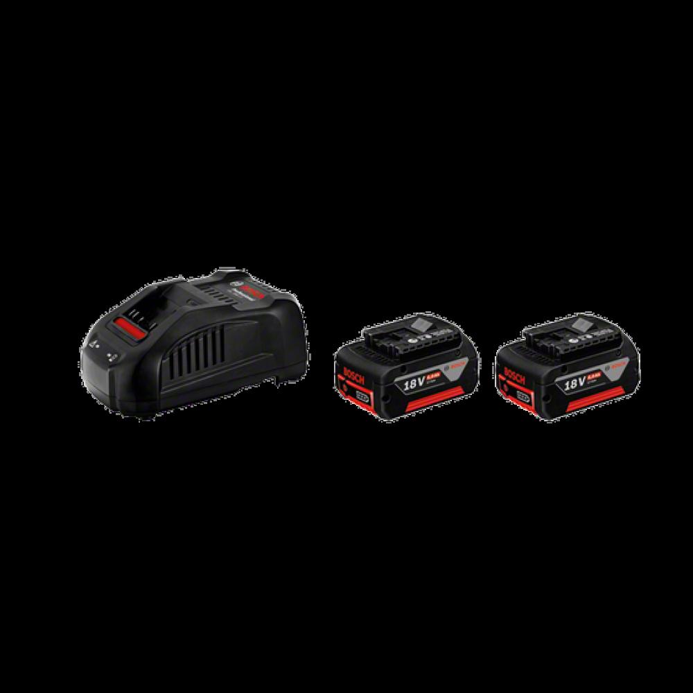 BOSCH početni set 2 x GBA 18 V 6,0 Ah M-C + GAL 3680 CV 1600A00500