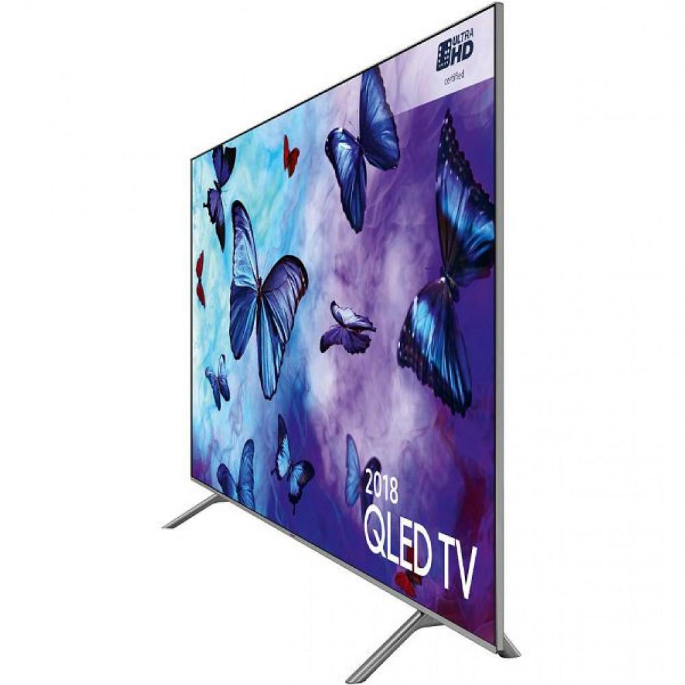 SAMSUNG televizor qled, smart tv, uhd, pqi 2800, q hdr 1000, dvb t2/c/s2, 165 cm qe65q6fnatxxh