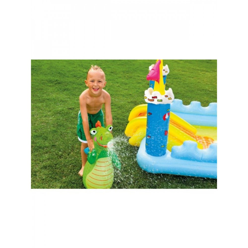INTEX dečiji bazen 1.85 x1.52 x1.07m - FANTASY CASTEL PLAY CENTER 57138