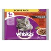 Whiskas hrana za mačku, meso i povrce 4x100g 520169