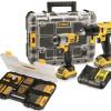 DEWALT akumulatorska bušilica odvijač + udarni odvijač 10,8 V / 2.0 Ah DCK211D2T