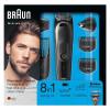 BRAUN MGK5080 BLK/BLU + RZR WBOX