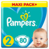 PAMPERS ACT JPM 2 (80) + WIPES 2x12kom