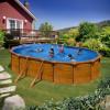 PONTAQUA WOOD STAR porodični bazen 6,1x3,75x1,32 m FFA 772