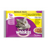 WHISKAS hrana za mačku, živina 4x100g 520170