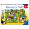 RAVENSBURGER puzzle (slagalice) - divlje životinje RA08003