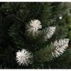 Zelena novogodišnja jelka sa belim vrhovima 120 cm 21308